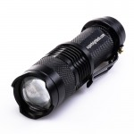 3 Watt LED Flashlight with Variable Focus Zoom Lens
