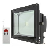 FL-RGB120-30W: High Power 30W RGB LED Flood Light Fixture with Remote