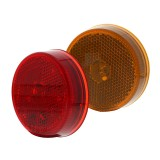 M4R-x4: M4R series 2.5in Round LED Marker Lamp