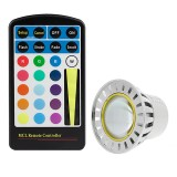 MR16-RGB3W-60: 3 Watt Color Changing RGB LED MR16 Bulb (remote sold separately)