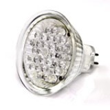 MR16-W30: MR16 Bulb with 30-5mm Cool White LEDs