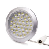 PLF-x36SMD: 36 High Power SMD LED Puck Light Fixture
